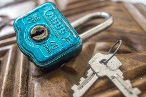 Safe Creative Door Security Vintage Key Lock