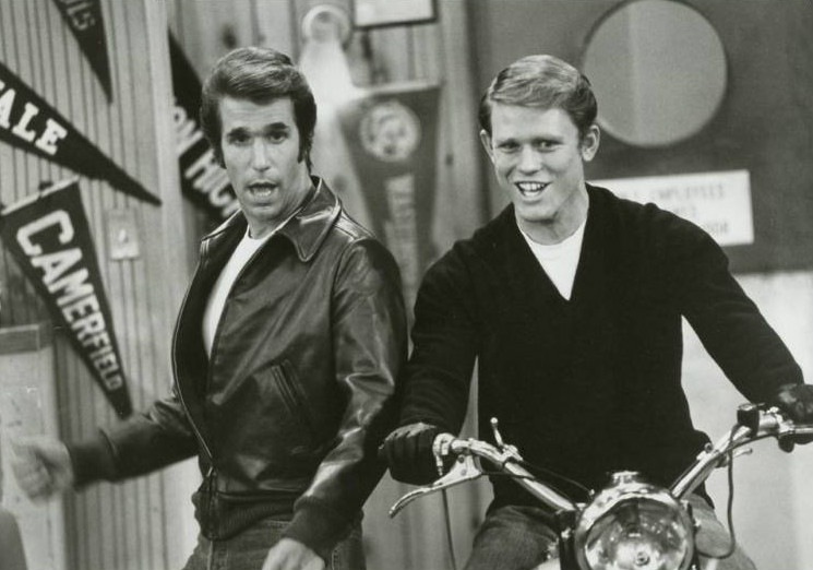Happy Days - Fonz and Richie